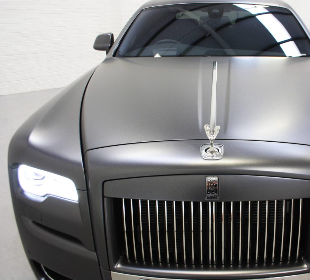 Rolls Royce Vehicle Wrap