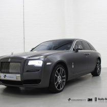 A recent Rolls Royce wrap we worked on at our Leeds wrapping centre.