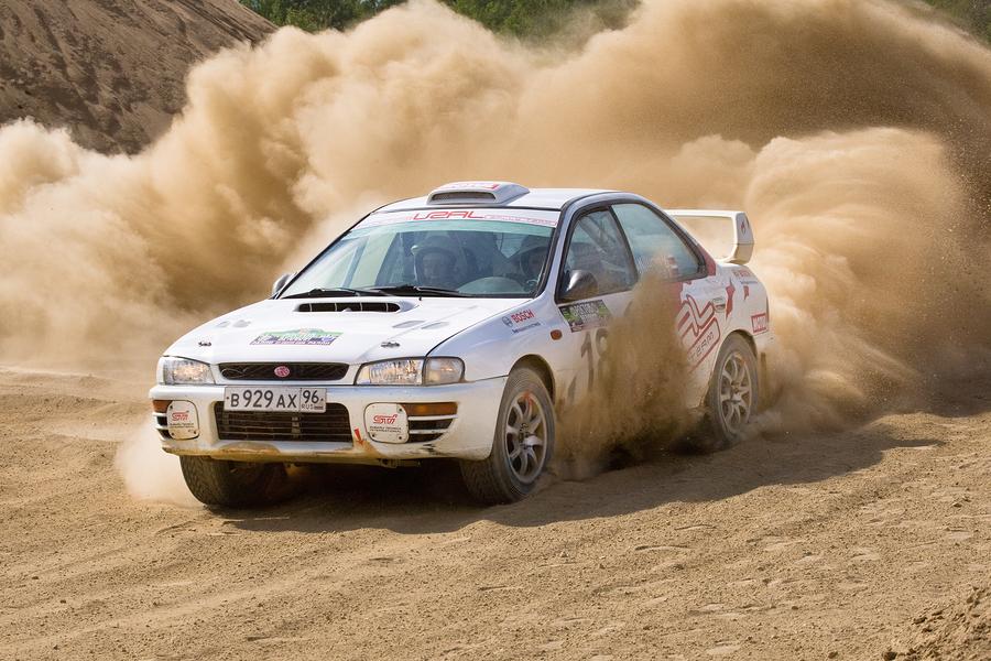 Rally car @ CarFest North