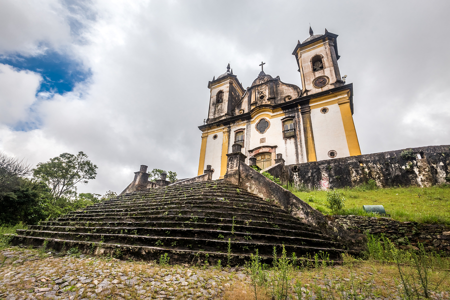 Sao Francisco De Paula Church ,Ouro preto in brazil