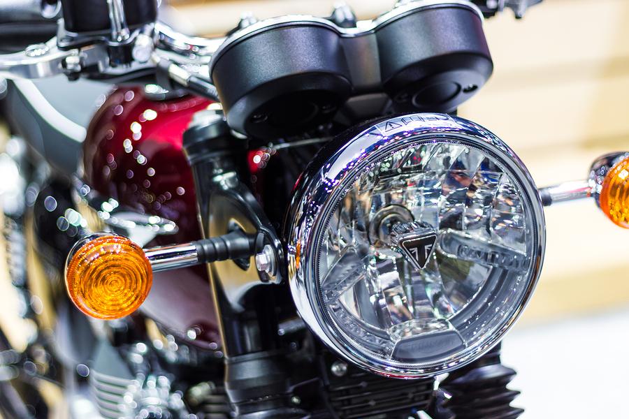 Picture of Triumph Motorbike