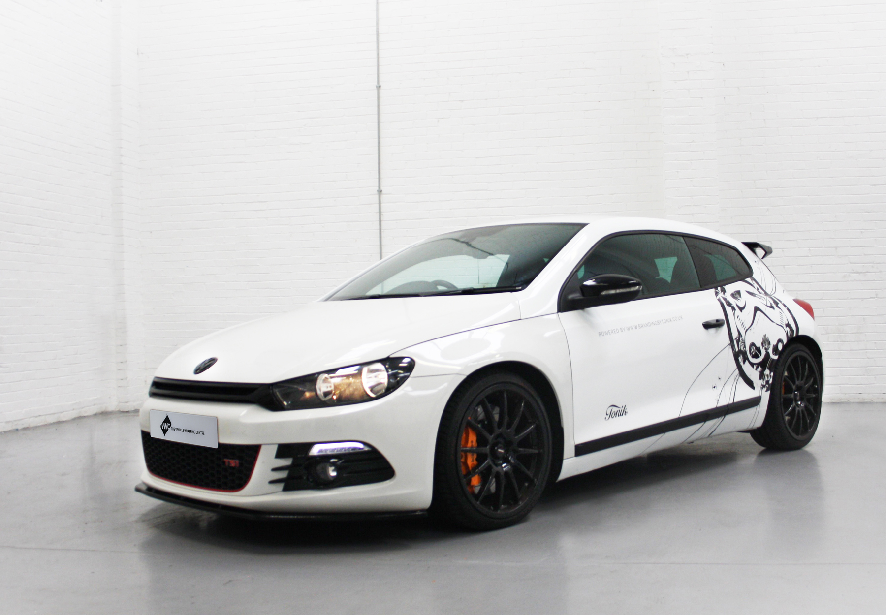 VW Scirocco Personal Vehicle Wrap Project
