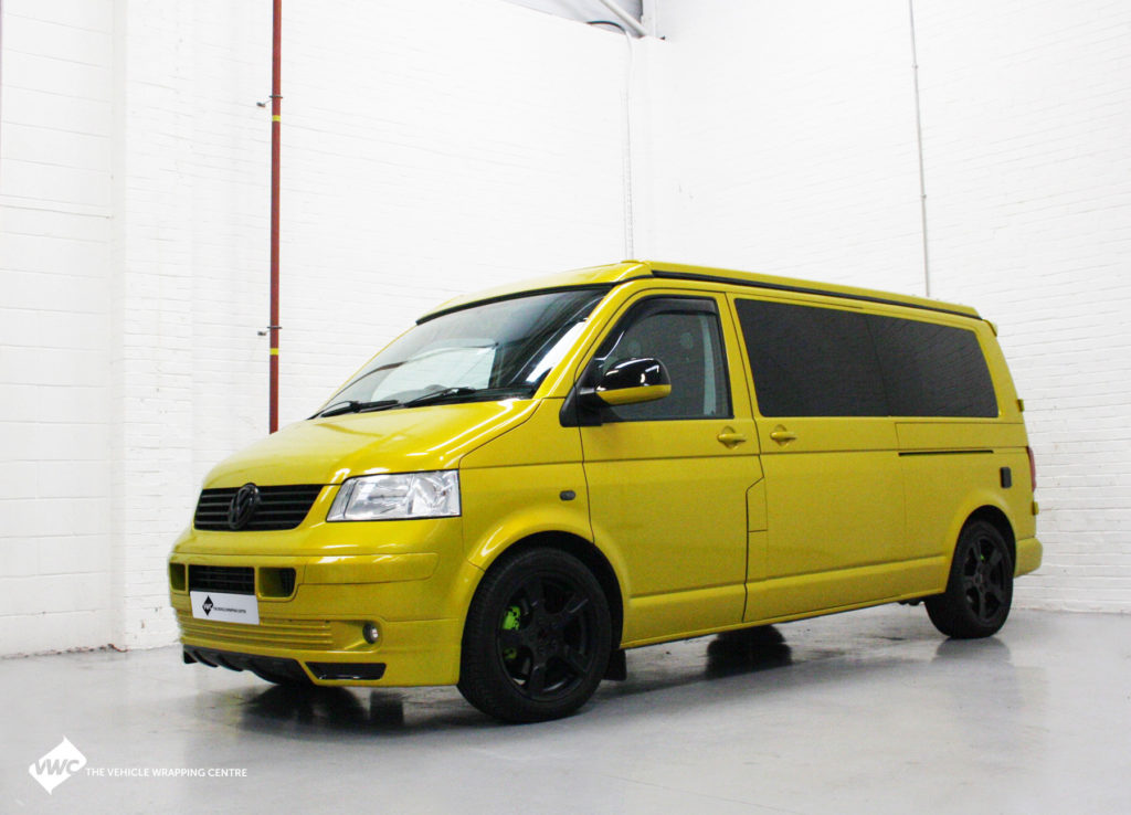 vw t5 personal vehicle wrap project. Black Bedroom Furniture Sets. Home Design Ideas