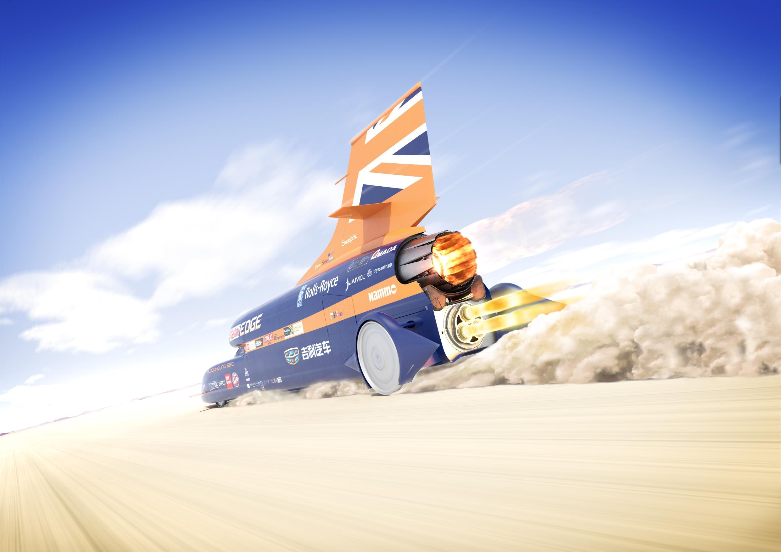 Bloodhound Rocket Car