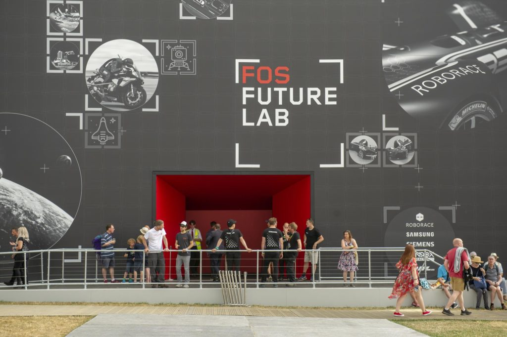 A picture of the Festival of Speed Future Lab.