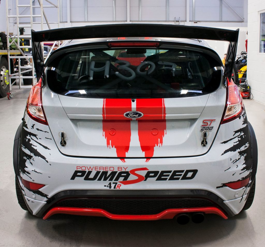 Puma Speed 3m Race Livery Personal Vehicle Wrap Project