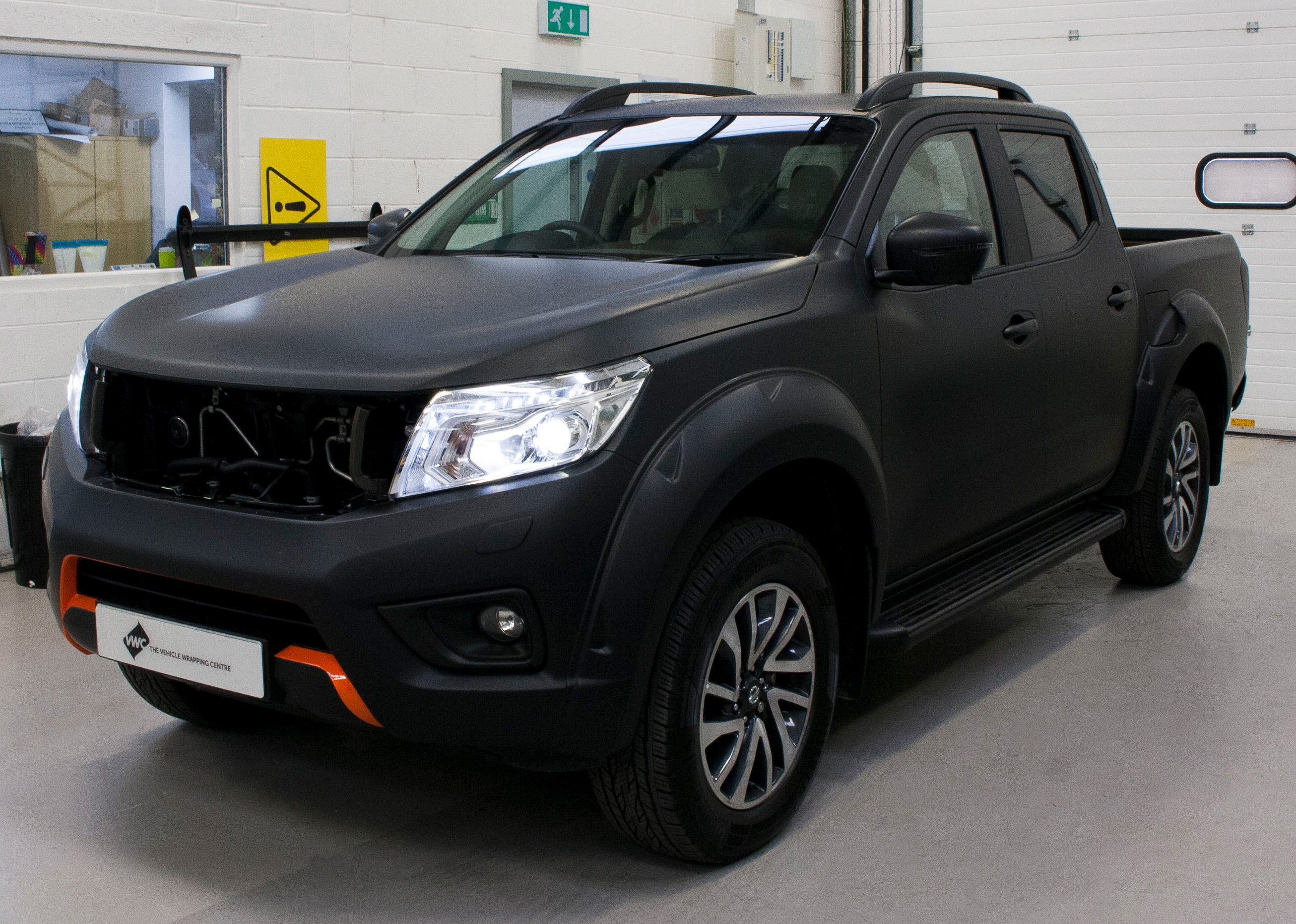 Nissan Navara 3m Matte Black Personal Vehicle Wrap Project