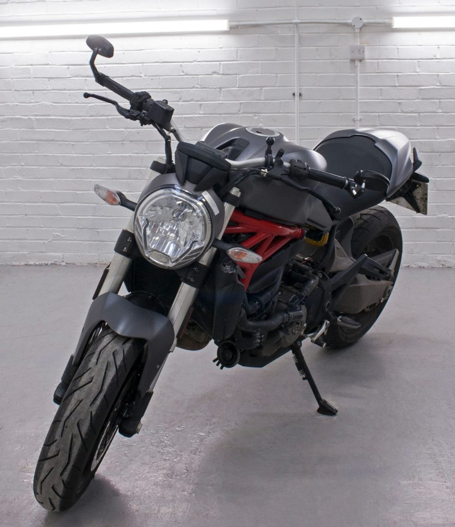 Window Tinting Mn >> Ducati Monster 821 - 3M Matte Dark Grey Personal Vehicle Wrap Project