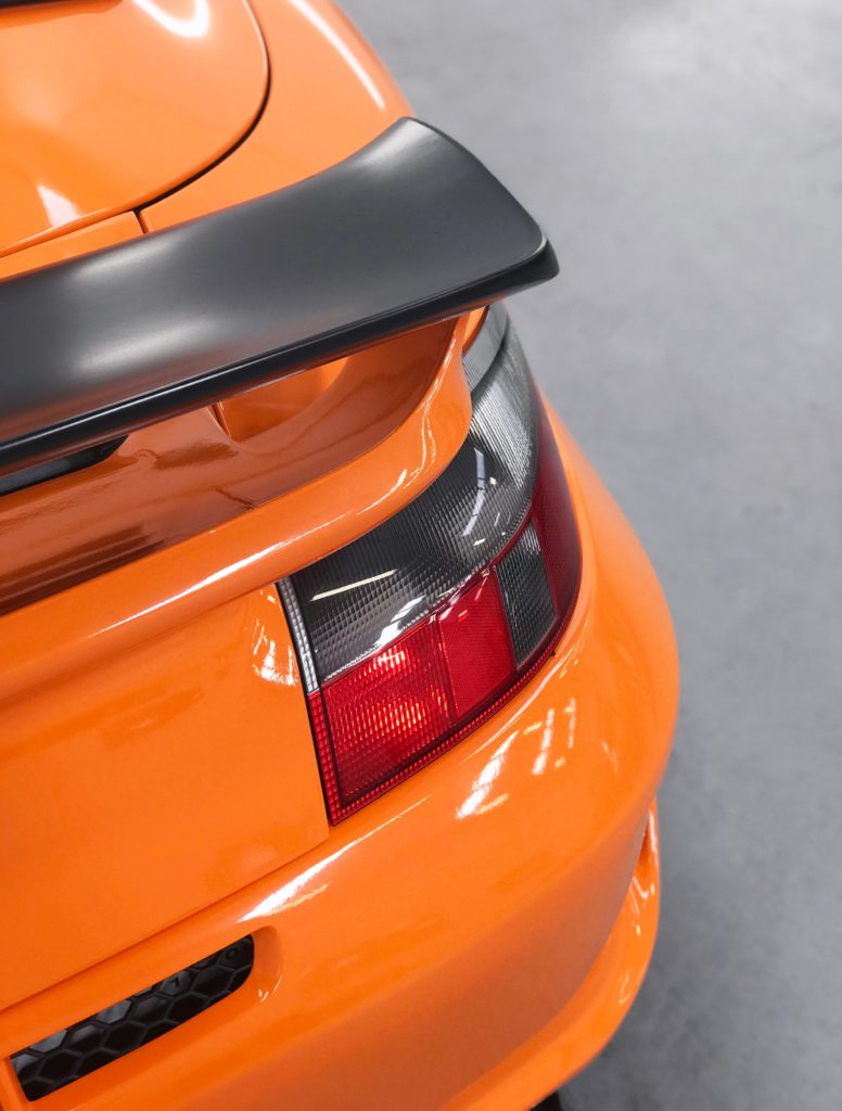 Porsche 996 3m Gloss Bright Orange Personal Vehicle Wrap