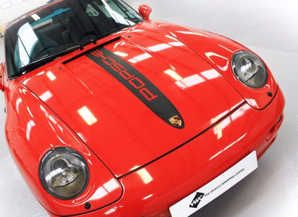 porsche-98-targa-sports-car-bonnet-decals