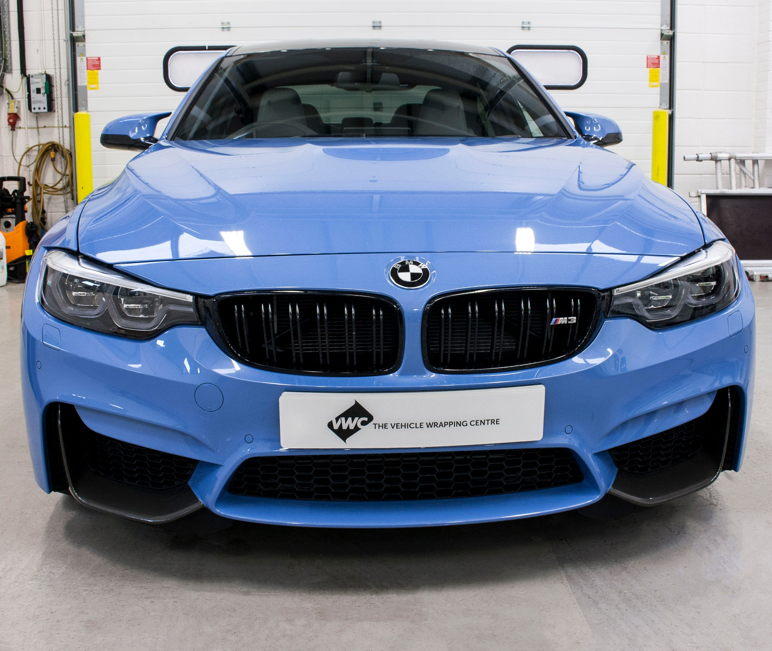 Bmw Yas Marina Blue: Sott Gloss Carbon Fibre Personal Vehicle Wrap Project